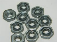 "10 x 10-32"" UNF Locking Nuts Aircraft Type Oddie Nuts [P14]"